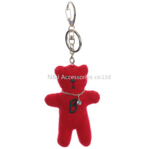 Plush Bear Bag Accessory Keyring Key Chain Promotion Gifts