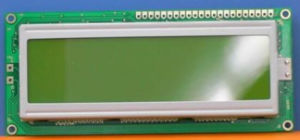 Green Color Tn SMT LCD Module for Electronic Products
