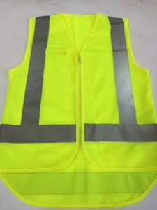 Children Reflective Vest with Front Short Back Long pictures & photos