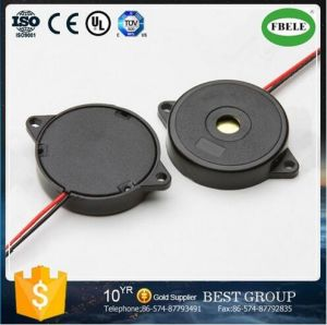 Promotion 34mm Good Quality Piezo Buzzer with Two Wires pictures & photos