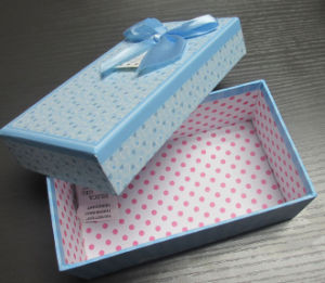Paper Gift Box with Ribbon Butterfly pictures & photos