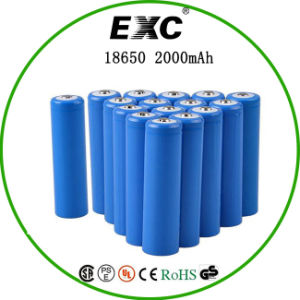 China Manufaturer 2000mAh 18650 3.7V Battery Li-ion 18650 Battery pictures & photos
