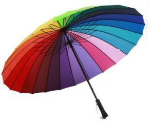 china rainbow umbrella cute umbrella bumbersoll advertising