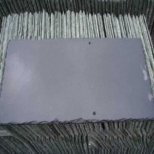 Natural Black/Grey Slate Stone Tiles for Roofing and Wall Cladding