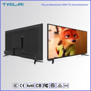 Factory Supply UHD 4K 43inch Home Smart WiFi LED TV with 512/1GB DDR