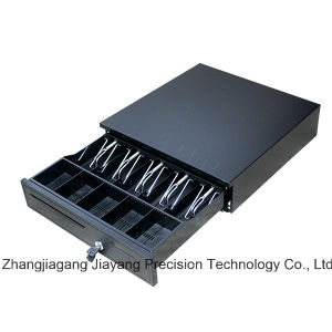 Jy-405b Heavy Duty Cash Drawer with 5 Bill Compartments and 5 Removable Coin Trays pictures & photos