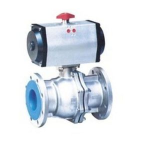 Stainless Steel Flanged V Type Ball Valve