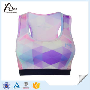 681a5c49b7d18 China Womens Dry Fit Custom Pattern Sublimation Athletic Sports Bra ...