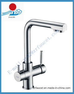 Solid Brass Purified Water Kitchen Mixer/Faucet (ZR001)