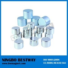 Permanent D70 Disc Cylinder Neodymium Magnet Zinc Coating pictures & photos