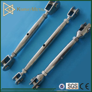 Stainless Steel Jaw and Jaw Closed Body Turnbuckle