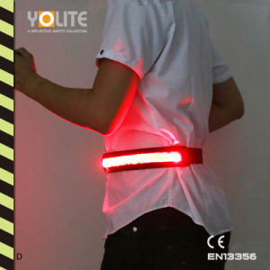 LED Luminous Belt, LED Light Belt, LED Reflective Waist Belt with CE En13356 pictures & photos