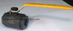Screwed and Sw Forged Steel Ball Valve pictures & photos