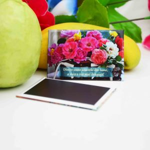 Wholesale Family Rectangle/Round Metal Tin Plate Fridge Magnet pictures & photos