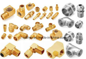 High Quality Brass Pipe Fittings Casting with Precision Machining pictures & photos