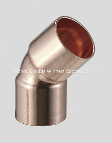 Copper 45 Elbow pictures & photos