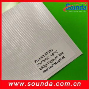 Sounda Hot Sale Product 200d*300d PVC Frontilit Flex Banner pictures & photos