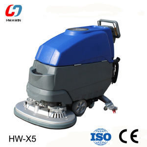 Mini Walk Behind Floor Cleaning Scrubber Machine pictures & photos