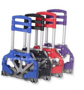 Foldable Aluminium Hand Trolley (HT085A-1) pictures & photos