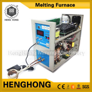 50kg Smelting Equipment Gold Melting Furnace for Gold Melting