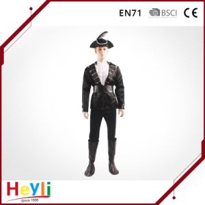 Fashion and Handsome Men Party Pirate Cosplay Costume