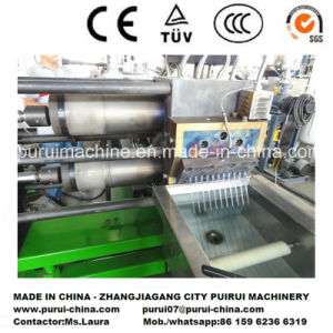 Twin Screw Plastic Extruder for Pet Scraps Repelletizing pictures & photos