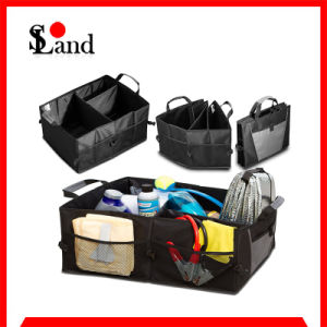 Sowland Waterproof Fabric Car Organizers with Foldable Design