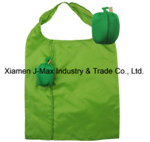 Foldable Shopper Bag, Fruits Green Bell Pepper Style, Reusable, Lightweight, Grocery Bags and Handy, Gifts, Promotion, Accessories & Decoration pictures & photos