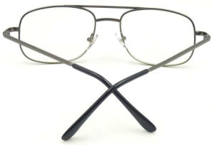 RM17060 Big Frame Metal Reading Glass with AC Lens Unisex Style pictures & photos