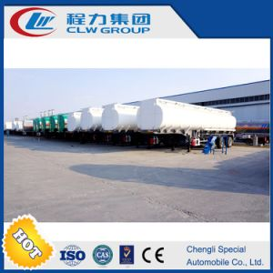 Carbon Steel Stock Fuel Oil Transport Truck Trailer pictures & photos