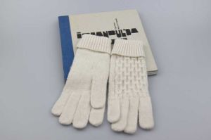 Ladies Full Finger Knitted Gloves, Wool Knitting Gloves, Embroidered Gloves