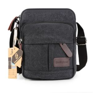Fashion Men′s Retro Lightweight Canvas Cross Body Everyday Messenger Bag pictures & photos