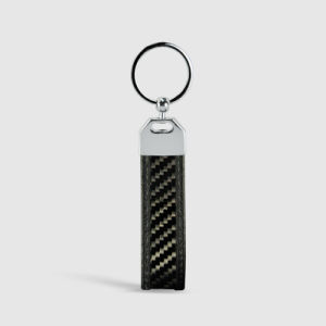 Wholesale Metal Cheap Car Logo Key Ring Chain Car Parts Keychains for Customized Car Carbon Fiber Keychain pictures & photos