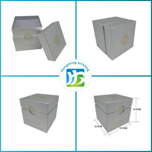 Custom Design Gold Logo Cardboard Candle Box pictures & photos