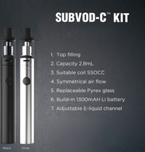 Kanger Pen Style E Cigarette Subvod-C with Factory Price