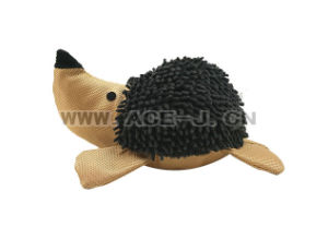 Cute Hedgehog Plush Pet Toy Training Chew Dog Toy with Squeaky