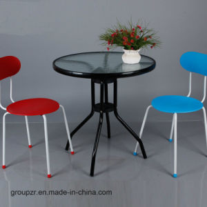 Garden Furniture Tempered Glass Table