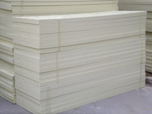 XPS Polystyrene Foam Waterproof Insulation Board, Extruded Polystyrene Board pictures & photos