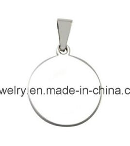Round Ss Jewelry Dog Tag Pendant Necklace pictures & photos