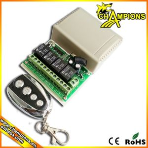 4 Channel Wireless Remote Control Receiver Circuit Board, Wireless RF  Transmitter and Receiver AG-C402
