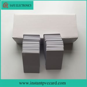 Blank Printable Inkjet PVC Business Card pictures & photos