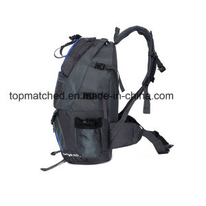 Wholesale 600d PVC 50L Mountaineer Gym Bag Brand Hiking Backpack pictures & photos