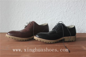 High Quality Men Leather Shoes Office Shoes for Supplier pictures & photos