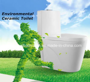 Environmental Protected One-Piece Ceramic Toilets (8029) pictures & photos