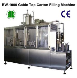 Soy Milk Beverage Carton Boxes Filling Packing Machines (BW-1000) pictures & photos
