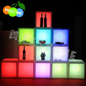 China Led Wine Display Shelf Rgb Light