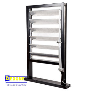 Motorized Louver Window/ Operable Aluminium Sun Louver (DX-AF150)