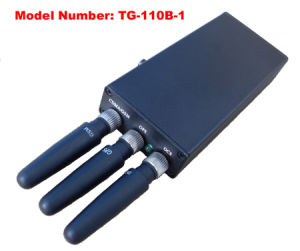 Free Shipping Handheld Signal Jammer GPS Cell Phone Jammer Tangreat pictures & photos