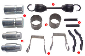 Brake Shoe Repair Kits (XL1605) pictures & photos