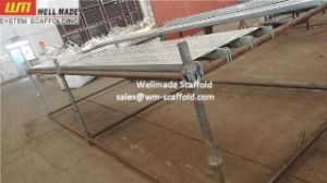 Access Scaffolding Concrete Formwork Metal Scaffold Plank Board pictures & photos